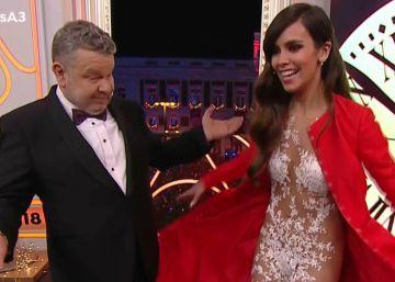 TVE lidera las Campanadas y Antena 3 logra con Cristina Pedroche su mejor dato en 23 años