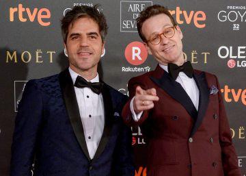Joaquín Reyes y Ernesto Sevilla se toman con humor las críticas por los Premios Goya