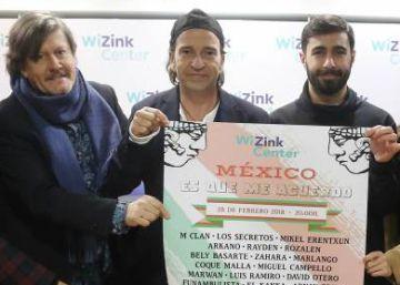 Un carrusel de artistas se reúne para ayudar a México