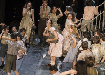 Los niños del coro que dan vida a las óperas del Teatro Real