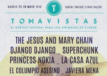 Guía para el festival Tomavistas 2018: horarios, entradas y cartel