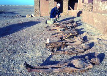 Las momias vuelven de buen rollo