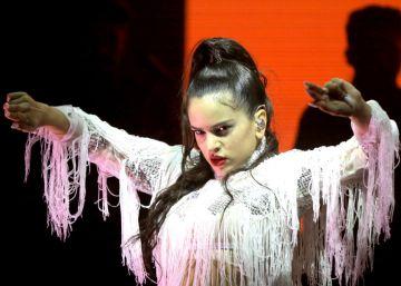 El flamenco electrónico de Rosalía echa a volar en el Sónar