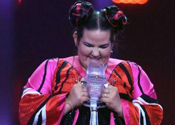 La ganadora de Eurovisión niega que su tema plagie a The White Stripes