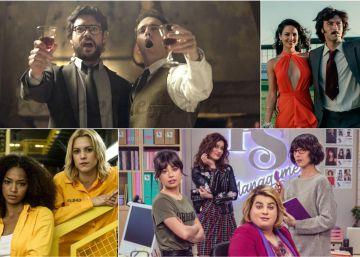 Partisanos, tangos y Rocío Jurado, las canciones de las series españolas del momento
