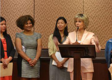 Jane Fonda lleva el otro #MeToo al Congreso de EE UU