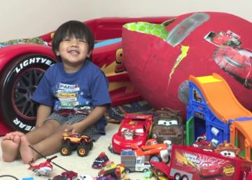 Millonario y prescriptor de juguetes a los seis años