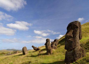 Chile quiere de vuelta el moái de Isla de Pascua que exhibe el Museo Británico