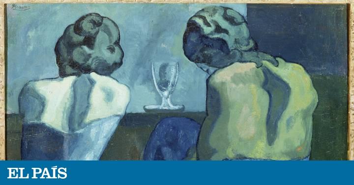 Paris Se Tine Del Azul Y Rosa De Picasso Cultura El Pais