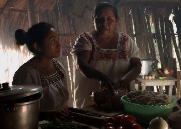 Cine con sabor a cocina maya