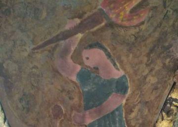 Sansón, convertido en monigote en la catedral de Baeza