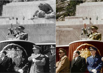 La construcción del Valle de los Caídos, a todo color