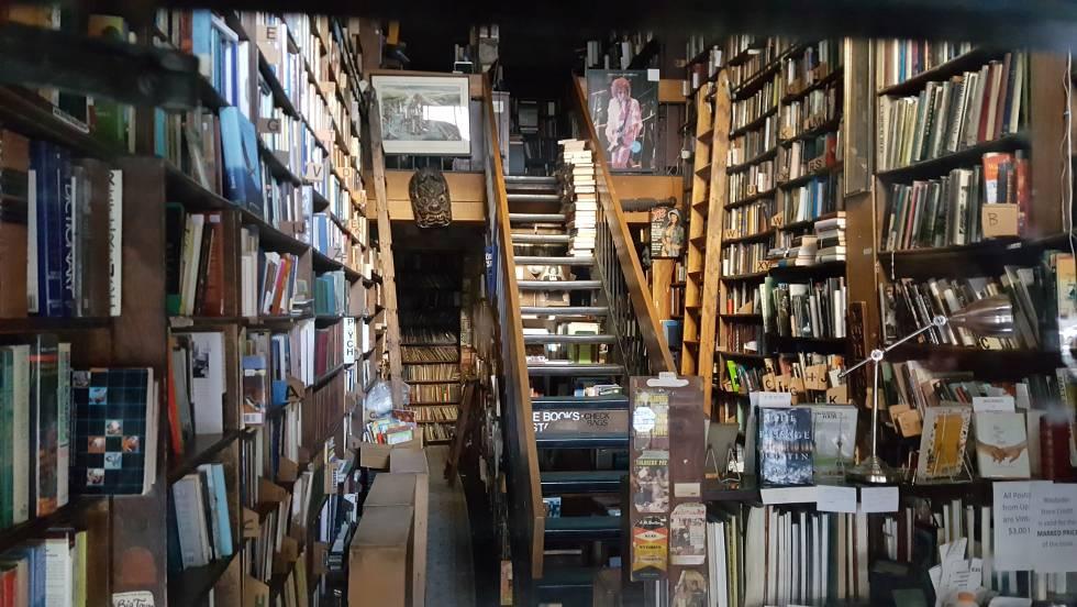 Los vecinos de un barrio en Nueva York salvan su librería