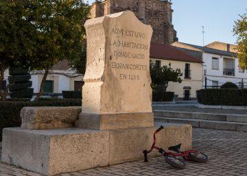 La casa natal de Hernán Cortés, en Medellín, vuelve a la luz