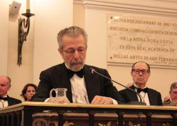 Hernán Cortés lleva a la Academia de Bellas Artes su retrato innovador