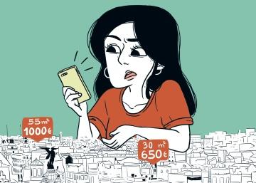 La odisea de alquilar piso, en viñetas