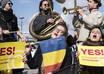 La UE ratifica la reforma de los derechos de autor