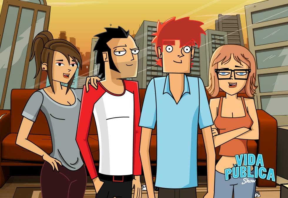 La serie animada que siguen 2 millones de jóvenes latinos