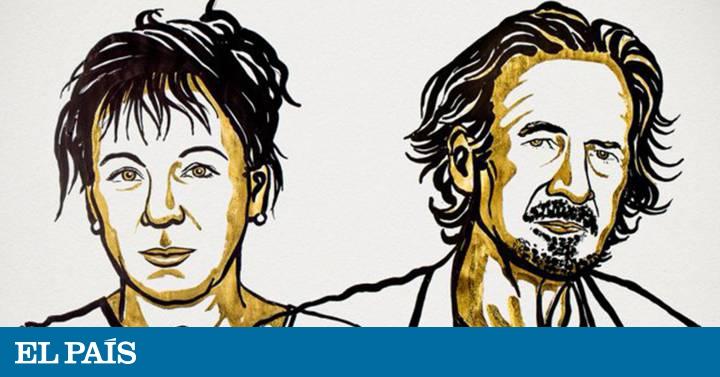 Olga Tokarczuk y Peter Handke ganan el Nobel de Literatura de 2018 y 2019