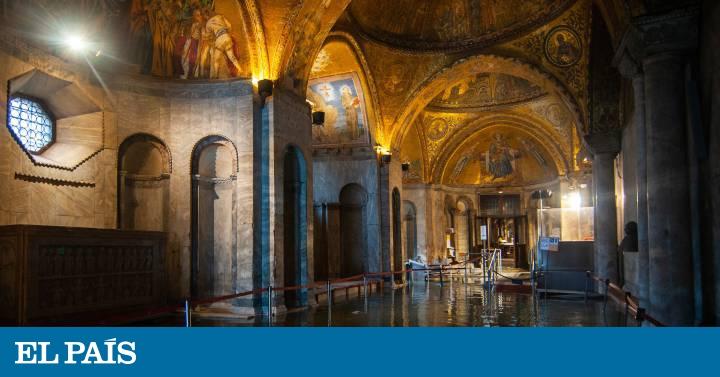 El patrimonio de Venecia, en peligro por las inundaciones - EL PAIS