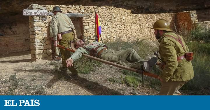 Dosis de esperanza entre sangre y metralla - EL PAIS