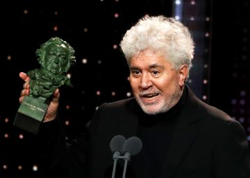 Filmmaker Pedro Almodóvar triumphs at Spain's Goya Awards