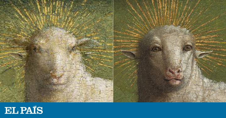 """The mystical lamb overcomes the """"meme"""" to show the glare of Van Eyck 