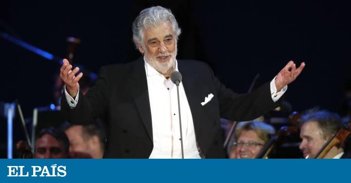 The Ministry of Culture cancels Plácido Domingo's performances at the Teatro de La Zarzuela   Culture