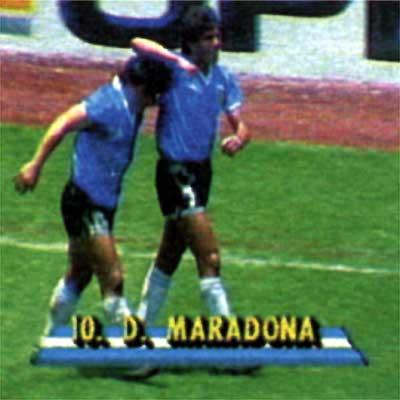 Fotos La Mano Del Dios Maradona Deportes El Pais