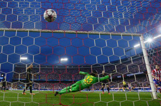 Atlético de Madrid 1 - FC. Barcelona 0: Mucho Atlético para el viejo ...