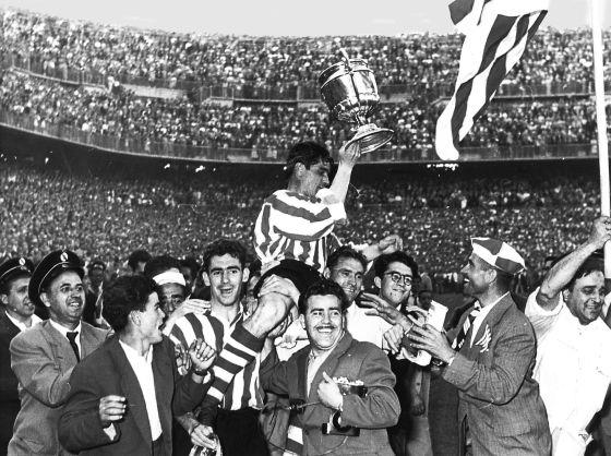 Final Copa del Rey: El día que Gaínza regateó a Franco | Deportes ...