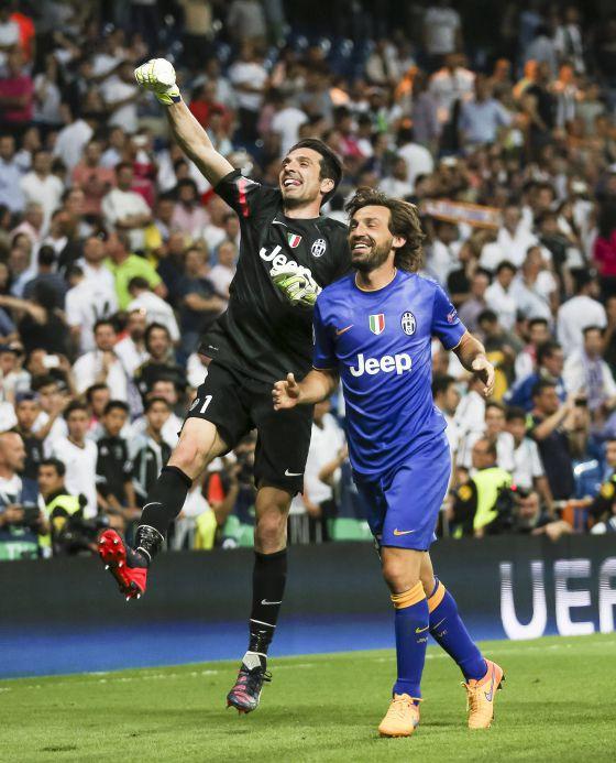 Final Juventus – Barcelona  Pirlo y Buffon 25f0deb072131