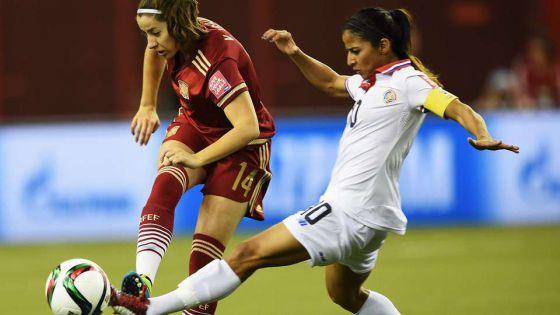 Mundial femenino Canadá 2015  España empata con Costa Rica en su debut en  un Mundial  ffeb77e954098