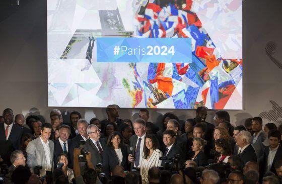 Paris Presenta Su Candidatura Para Los Juegos Olimpicos De 2024