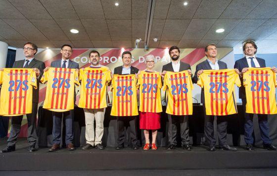 Barça  Los candidatos a presidir el Barça firman un  Compromiso de ... ec0f50421fb
