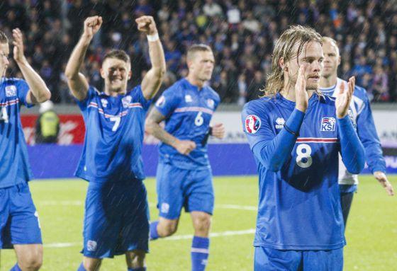 Eurocopa 2016 Islandia Pequena Pero Matona Deportes El Pais