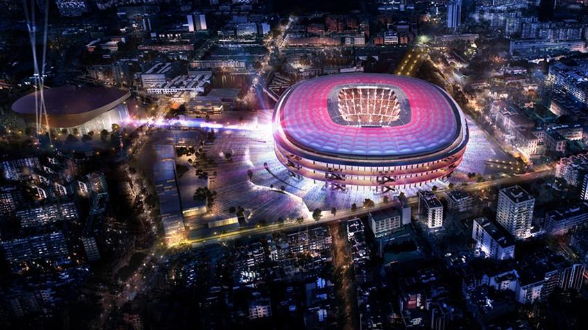 Barcelona  Um novo Camp Nou d6a5556c7d699