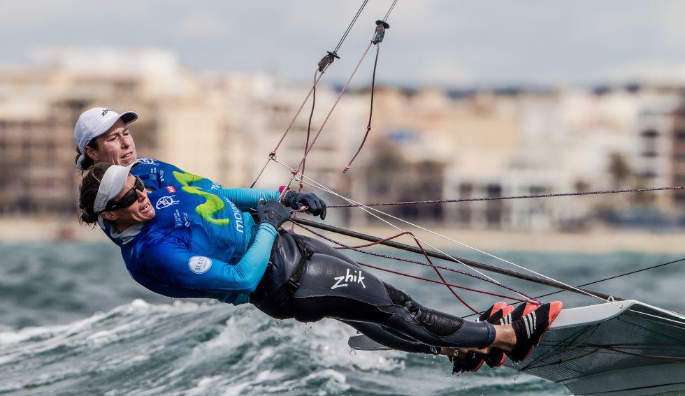 a7ce89d9c1 Juegos de Río  Las  acrobacias  de Tamara Echegoyen y Berta Betanzos ...