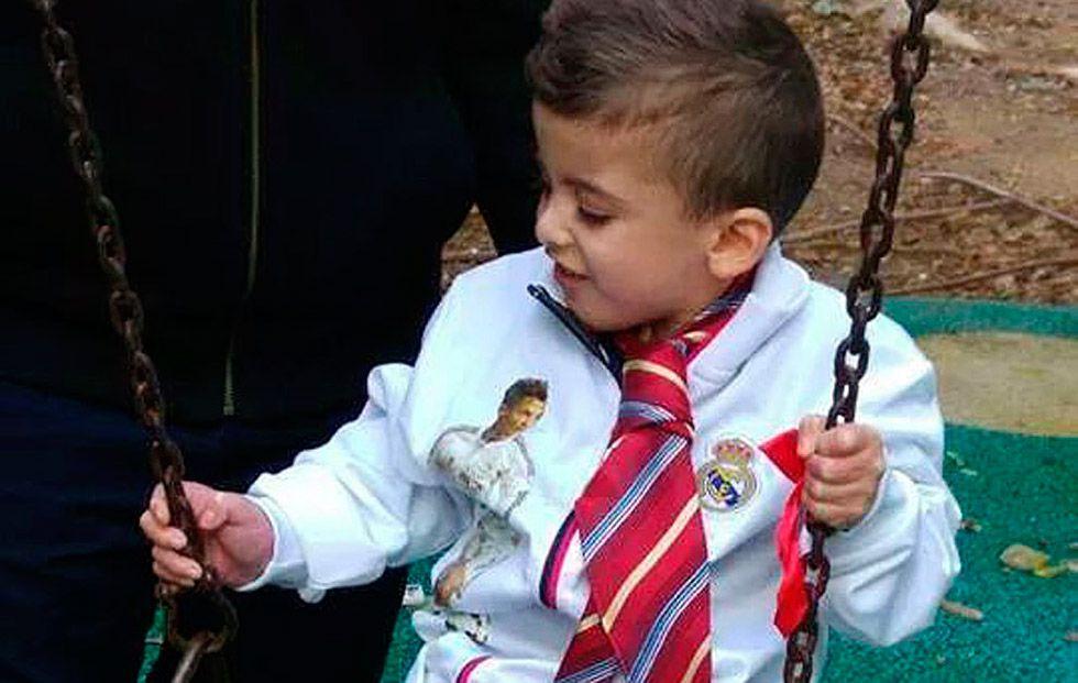 El niño palestino que sobrevivió al ataque de Duma viaja a Madrid para  conocer a Cristiano Ronaldo  60076c07a4c24
