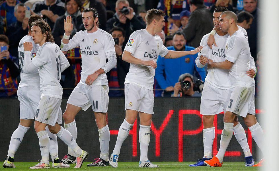 El Real Madrid gana al Barcelona y se lleva el clásico  fb158a4bad3a6