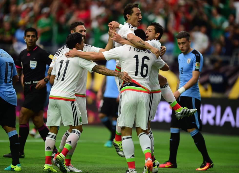 Copa América  México gana a Uruguay por 3 goles a 1 en un gran partido  ab5d495b756a7