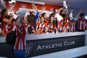 ff990647a Las jugadoras del Athletic de Bilbao.