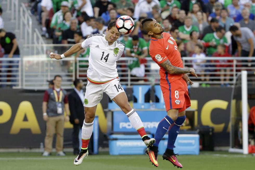 Chile destroza 7-0 a México en una paliza histórica en cuartos de la Copa  América  c736d72d16b5c