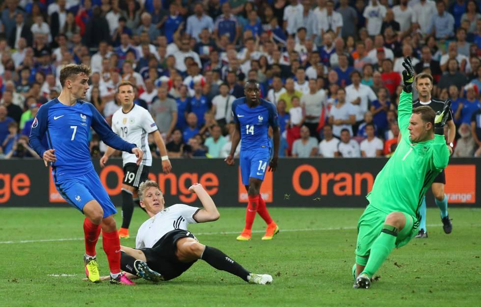 d8983a240 Francia gana a Alemania con un doblete de Griezmann y se mete en la ...