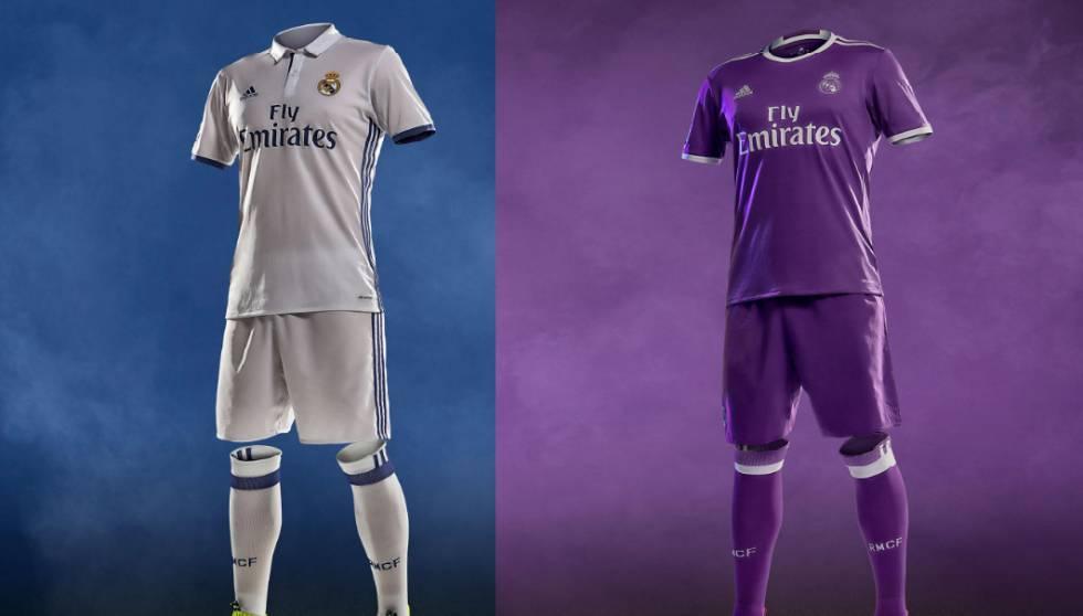Así será la nueva camiseta del Real Madrid 2016 2017  41438dbd38e