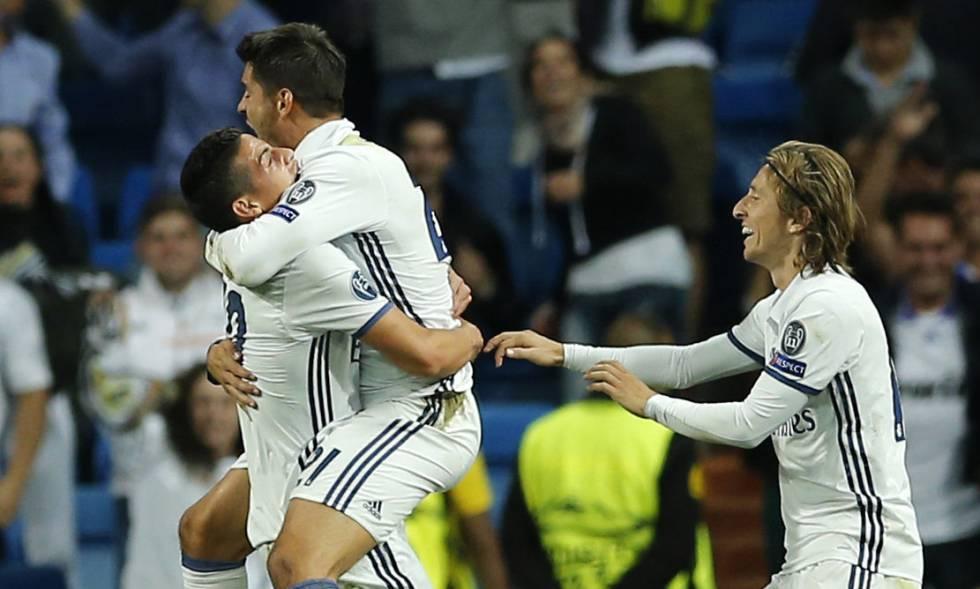 Resultado de imagen para morata champions league  real madrid