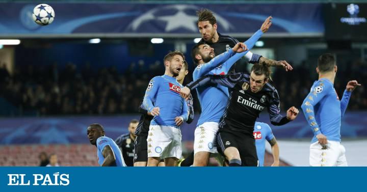 0e3a21df86cb8 El Real Madrid vence al Nápoles en el San Paolo y logra el pase a cuartos