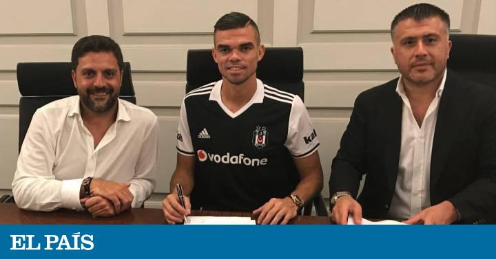 Fichajes 2017  Pepe firma con el Besiktas  3079c1c6e1203