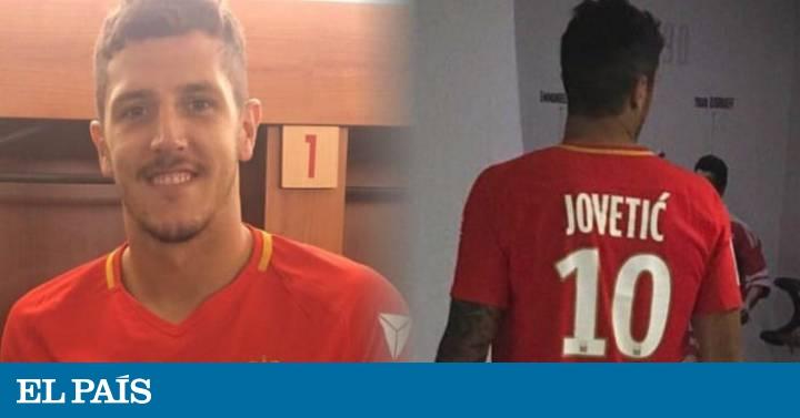 Camiseta AS Monaco Stevan JOVETIC