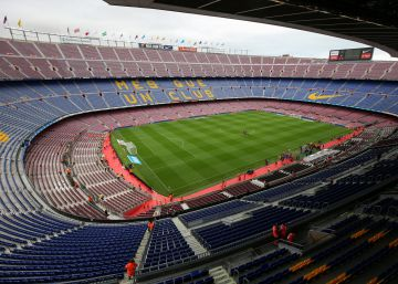 El partido entre el Barcelona y Las Palmas en el Camp Nou se juega a puerta cerrada